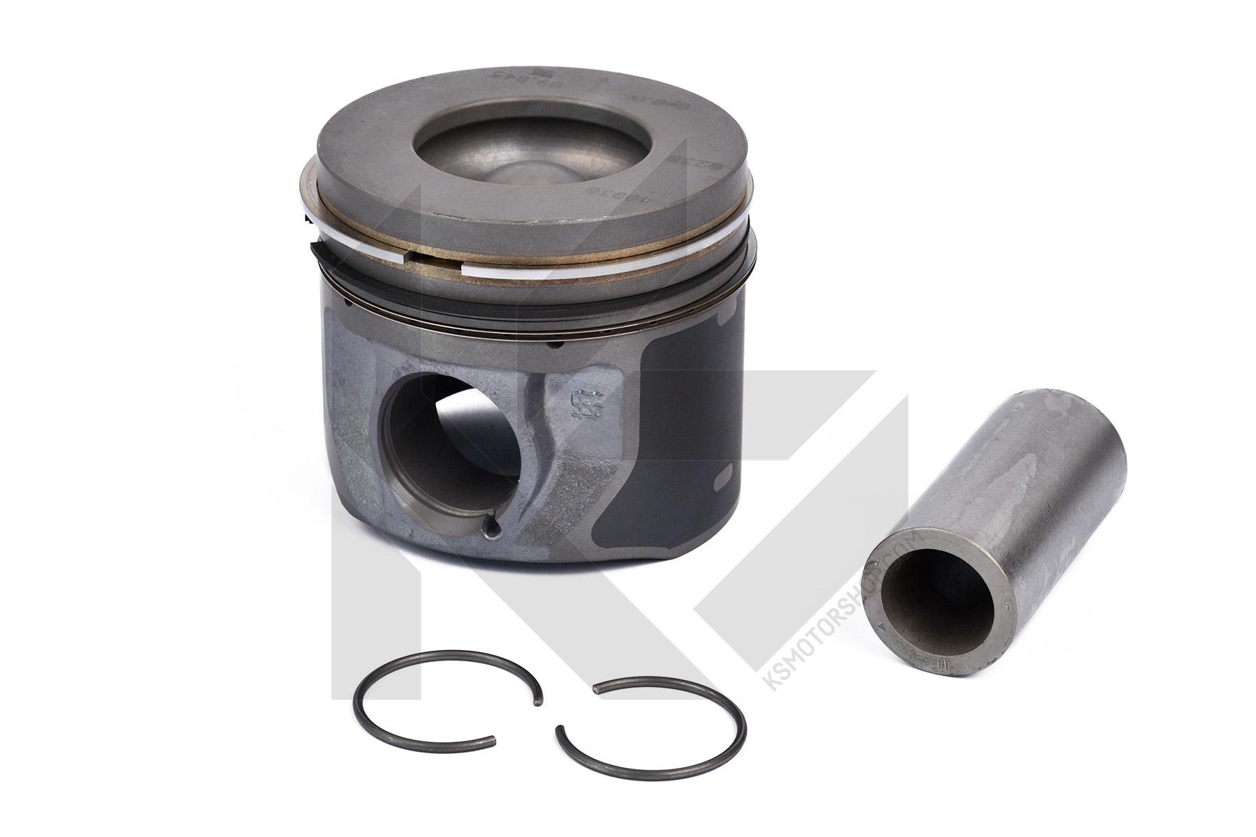 H9FA JXFC piston 90,41mm Kolben mit Ringen Ford Transit 2.4 TDCI