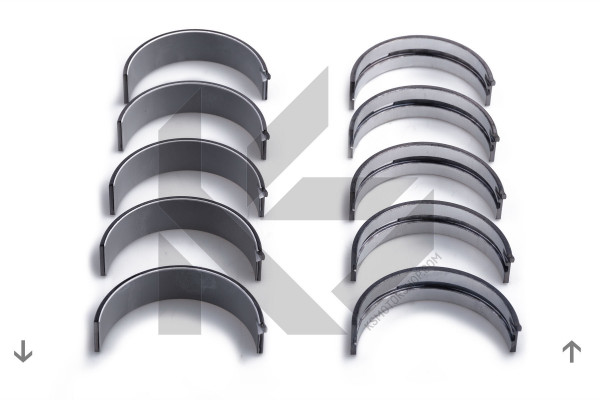77518600, Crankshaft Bearing Set, Main bearing set, KOLBENSCHMIDT, 1020335801, 6020330102, A1020335801, A6020330102, 1861H50STD, H068/5STD, H0685STD, VPM05026SPSTD