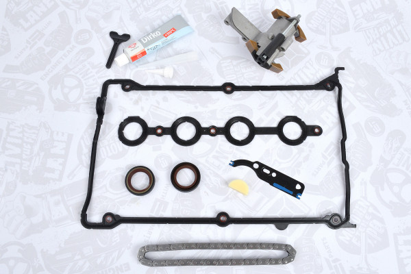 RS0063, Timing Chain Kit, Timing chain kit, ET Engineteam, Audi Skoda Seat VW 1,8T 20V AEB AUG 2000+, 038103085A, 038103085C, 049103491, 058109217B, 058109229, 058109229B, 058198025A, 058198217, 07810912