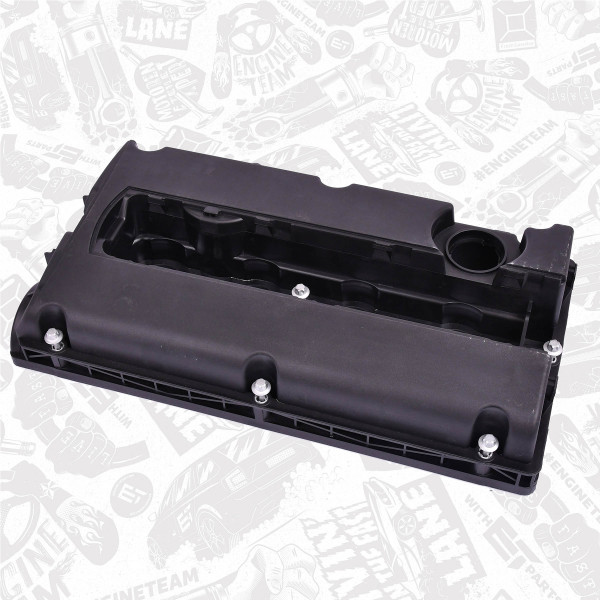 RV0010, Cylinder Head Cover, ET Engineteam, Fiat Opel Stilo Astra Vectra Zafira Z16 XEP 1,6 2003+, 24440090, 55556284, 5607159, 5607592
