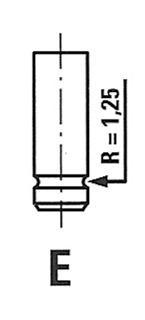 Inlet Valve For KHD Magirus Deutz 912 45- E.M 4153773