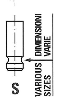FRECCIA Auslassventil R6073//RNT für TOYOTA