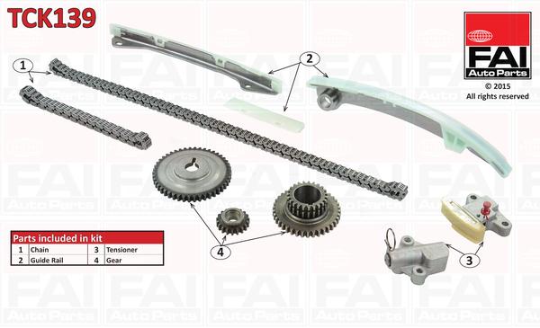 Timing Chain Kit - Tck139 Fai